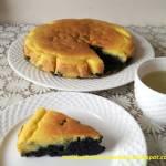 Ciasto z mąki kokosowej z borówkami (bez cukru)