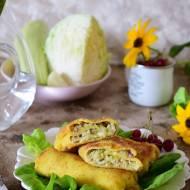Krokiety z młodą kapustą i serem żółtym