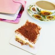 Krówkowe szaleństwo - pyszne ciasto z kawałkami bezów