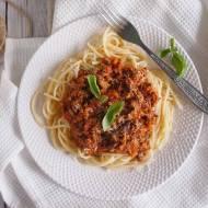 Szybki makaron bolognese / Quick pasta bolognese