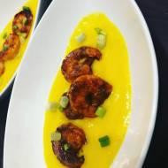 Przepisy kulinarne - Krewetki w sosie mango - Przepis na danie w 30 minut