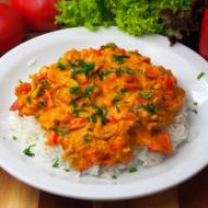 Szybkie curry z mięsem mielonym