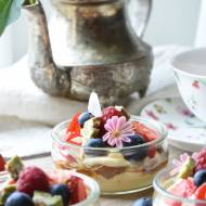 Tiramisu z owocami