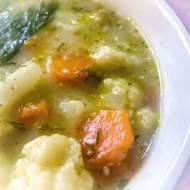 Zupa kalafiorowa – pychotka :)