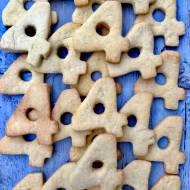 Ciasteczka kruche- przepis podstawowy