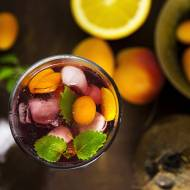 "Mrożona herbata na bazie ""Richmont Peach Lemon Star"""