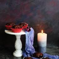 Muffiny kakaowo - wiśniowe