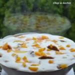 Jogurtowoł szpajza ze fyrzichami (Jogurtowa pianka z brzoskwinią)