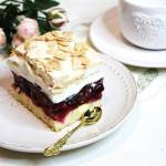 Wiśniowa chmurka -ciasto