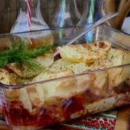 Piersi kurze w sosie musztardowo serowym