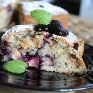 """Szybkie ciasto ucierane """"na filiżankę"""" z owocami"""