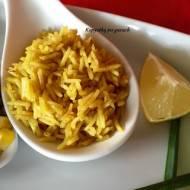 Smażony, szafranowy ryż