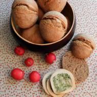 Bułki śniadaniowe dla leniwych na zakwasie