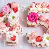 NUMBER CAKE - TORT Z KRUCHEGO CIASTA