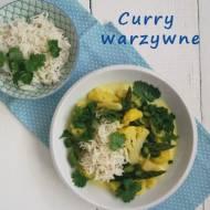 Curry warzywne.