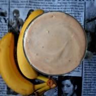 Smoothie bananowe z masłem orzechowym