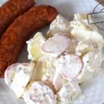 Ziemniaczana sałatka z rzodkiewkami