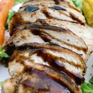Czwartek: Kurczak po włosku w sosie balsamicznym