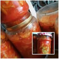 sałatka caloroczna do sloikow z ogorka i fasoli szparagowej