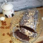 Orzechowo-czekoladowa babka (na orzechach laskowych)
