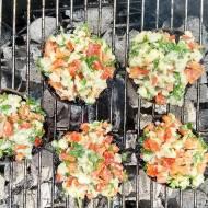 Pieczarki z grilla
