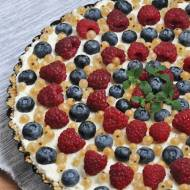 Tarta na zimno z owocami