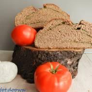 Chleb orkiszowo - gryczany ze szpinakiem