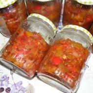 Sos (chutney) cukiniowo – paprykowy na zimę