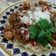 SPAGHETTI Z MIĘSEM MIELONYM 🍝  rita food channel