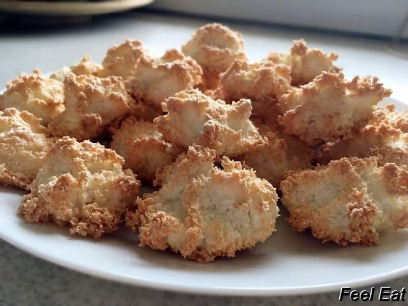 Beziki z wiórkami kokosowymi