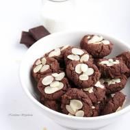 Ciasteczka czekoladowe z białej fasoli (wegańskie i bezglutenowe)