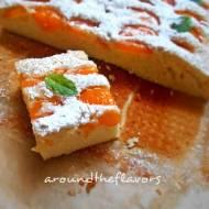 Ciasto morelowe z nutką pomarańczy