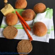 Puszyste bułeczki orkiszowe z ziemniakami