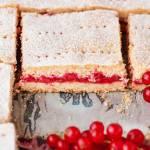 Ciasto półkruche z porzeczkami