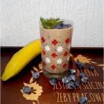 Koktajl borówkowy z chia