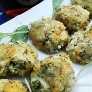 Kotleciki z brokułów i sera