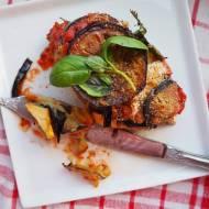 Parmigiana z bakłażanów i cukinii