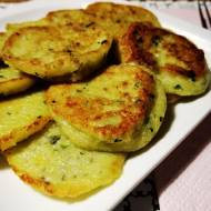 Placki z ziemniakami, cukinią i chia