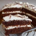 CZEKOLADOWE VELVET CAKE Z KREMEM