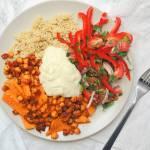 Warzywa z Musztardowym Dressingiem