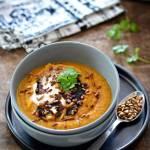 Zupa-krem zmłodej marchewki