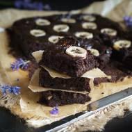 Najlepsze brownie bananowe bez mąki. Ciasto czekoladowe FIT.