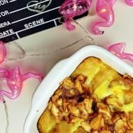 Naleśniki zapiekane z serem i karmelizowanymi jabłkami