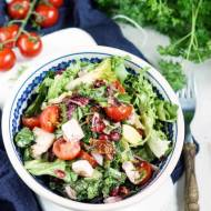 Salatka z granatem