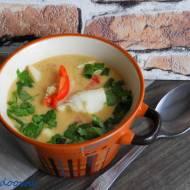 Tajska zupa w 15 minut z limandą żółtopłetwą