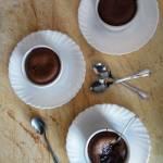 Wiśniowe brownie w kokilkach