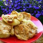żółta papryka pieczona z mięsem drobiowym z ryżem...