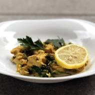 Aromatyczny kurczak curry z imbirem i miodem