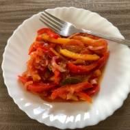Opiekana ryba w zalewie pomidorowo-octowej