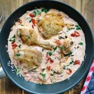 Piątek: Kurczak po toskańsku w kremowym sosie